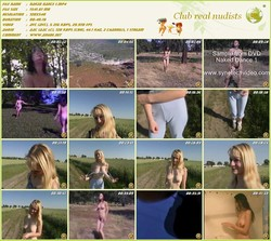 Naked Dance 1 - young naturists Dancing Nude in nature 1994  - (RbA 720x540 - 1.5Gb)