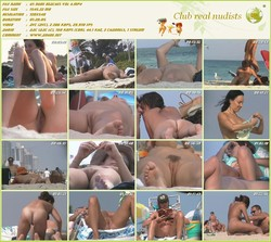 US nude Beaches Vol 4 - (RbA 720x540 - 1.5Gb)  nudist beaches