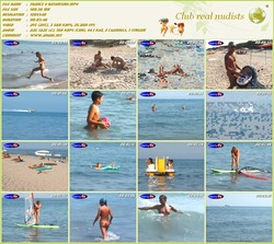 France 4 naturisme - liberty TV Nudism in France video - (RbA 720x540 - 100mb)