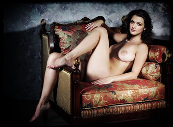 From I Want You Nude On The Couch Shoot Uhq Topless Naked