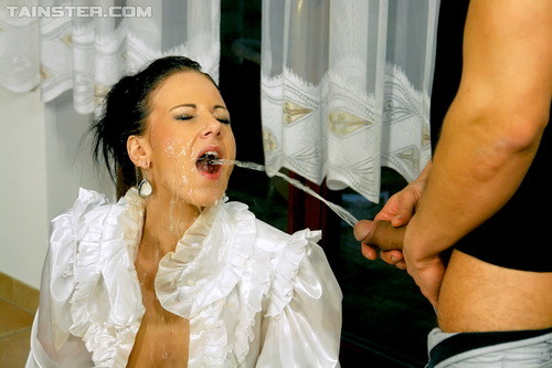 PissingInAction.com - Nathaly Cherie - Pisser On The Prowl