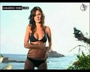 Paula Chaves sensual body black bikini