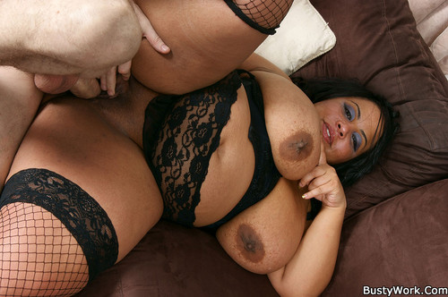 Shanice Richards   Black BBW masseuse the ending is happy HD